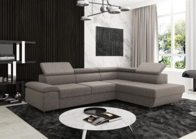 milano corner 1 grey